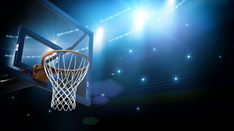Basketball hoop Toronto Raptors