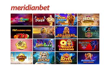 MeridianBet betting review casino slots