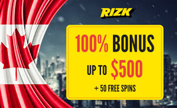 Rizk - Claim your bonus now!