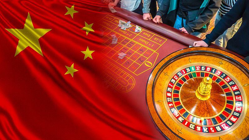 Illegales Glücksspiel in China
