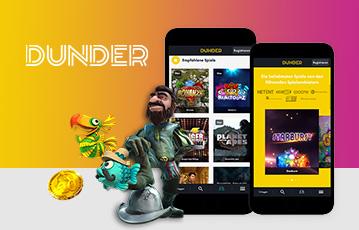 Dunder Test: Mobiles Spielen