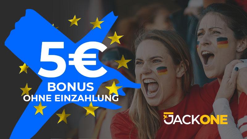JackOne Sportwetten Bonus ohne Einzahlung