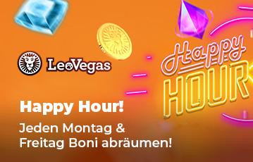 Leo Vegas Happy Hour