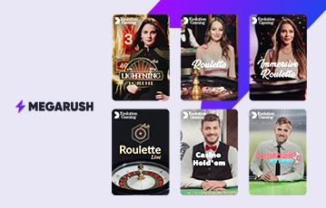 MegaRush Live-Casino