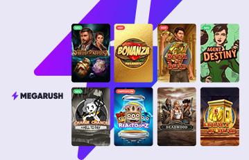 MegaRush Casino Erfahrungen - Spielautomaten