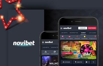 Novibet Slots mobil