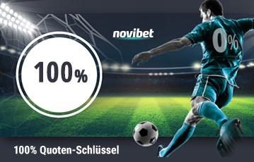 Novibet Sport Quotenschlüssel