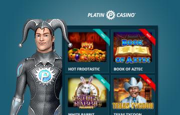 Platin Casino Erfahrungen Games