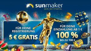 Sunmaker Sportwetten Bonus: So holst du dir das Sunmaker Bonus Angebot richtig