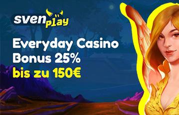 Sven Play Erfahrungsbericht: Reload Bonus
