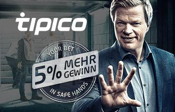 Tipico 5 Wettsteuer