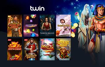 Twin Casino Erfahrungen: Slot Spiele