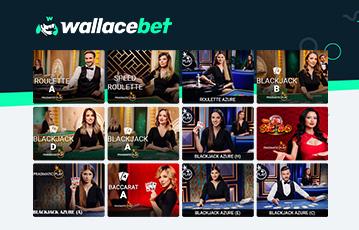 Wallacet Erfahrungen mit dem Live-Casino