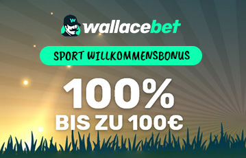 Wallacebet Sportwetten Bonus