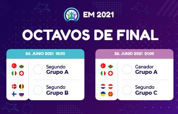 Eurocopa 2021 octavos grupo 3