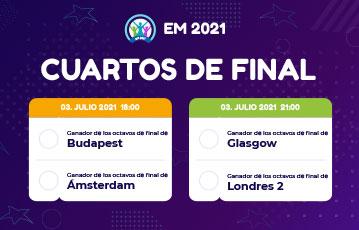 EC 2021 Cuartos de final
