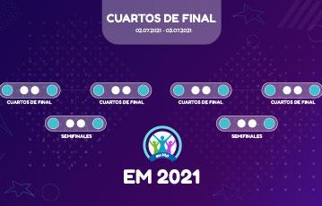Eurocopa 2021 cuartos de final