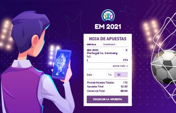 Eurocopa 2021 apuestas