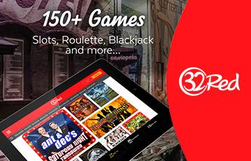 32Red カジノ スマホやモバイル機器でプレイ可