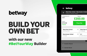 betway Bet Your Way Builder