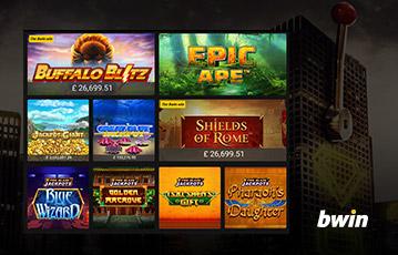 bwin カジノはスロットやカジノゲームが盛り沢山明