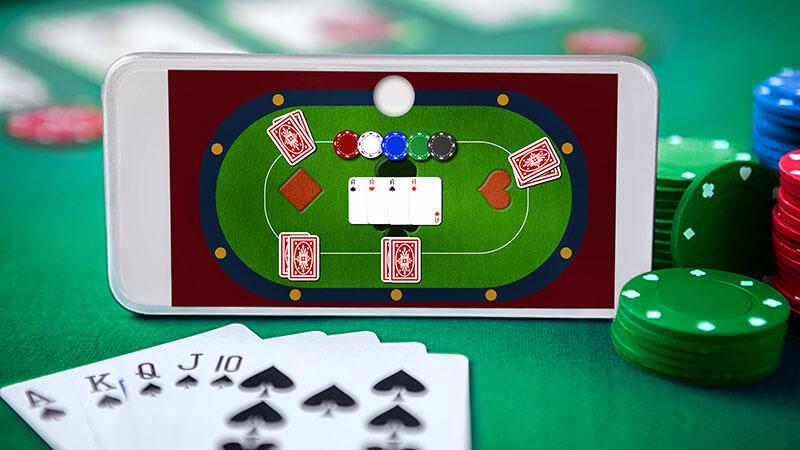 オンラインポーカーテーブル スマホ