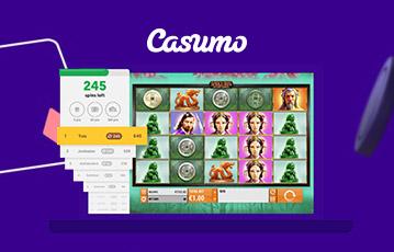 Casumo カジノでジャックポットを当てよう