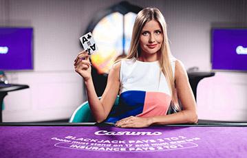 カスモカジノのライブカジノで当てよう