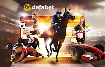 Dafabet ブックメーカー:サッカー、テニス、競馬、F1、ドッグレースもベット可