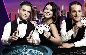 ジャックポットシティカジノ ライブカジノゲーム