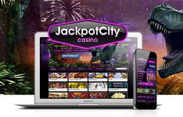 ジャックポットシティ スマホ・モバイル機器でカジノゲーム
