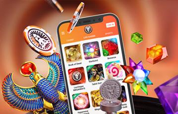 レオベガスのスマホアプリでスロット・カジノゲームを楽しむ