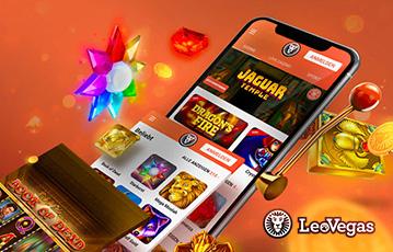 eovegasレオベガスカジノ スマホ・モバイル機器で遊べるカジノゲームが満載