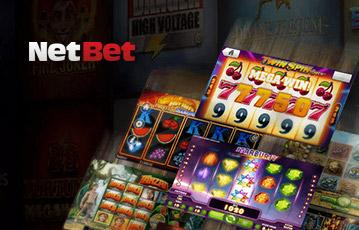 NetBetカジノのスロット・カジノゲーム