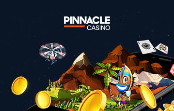 ピナクルカジノ スマホ・モバイル機器でスロットゲーム可