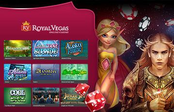 ロイヤルベガスカジノ スロット・カジノゲーム