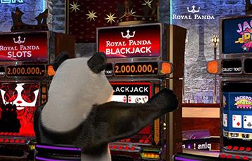 ロイヤルパンダ カジノ スロットゲーム