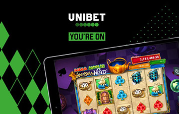 Unibet カジノ スマホ・携帯機器でプレイ