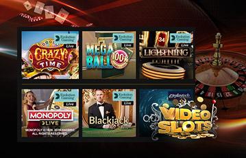 VideoSlots ビデオスロッツ ライブカジノ