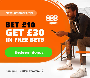 888sport new customer offer bet £10 get £30