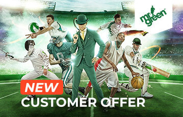 Mr Green betting sport new customer